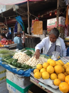 the market in Shillong